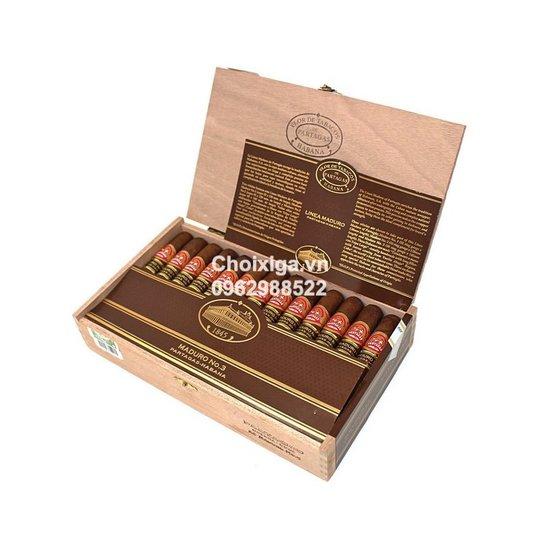 Xì gà Partagas Maduro No. 3 - Hộp 25 điếu