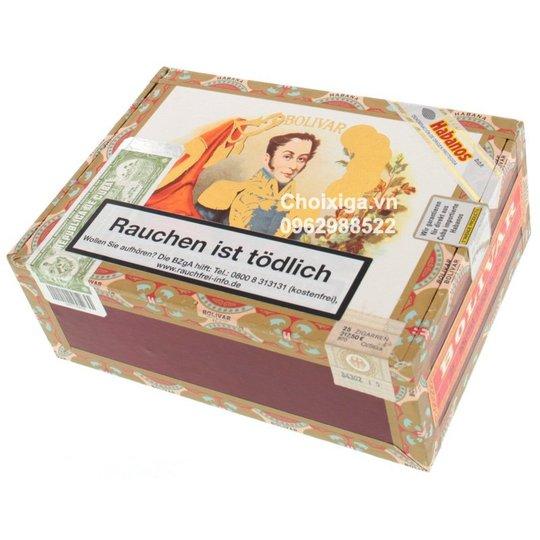 Xì gà Bolivar Tubos No. 2 - Hộp 25 điếu