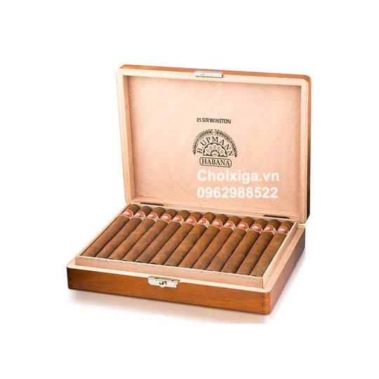 Xì gà H. Upmann Sir Winston - Hộp 25 điếu