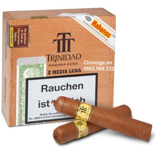 Xì gà Trinidad Media Luna - Hộp 12 điếu