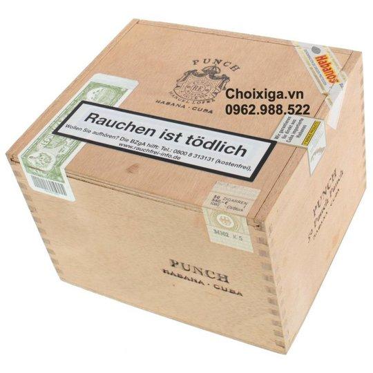 Xì gà Punch Punch Cabinet - Hộp 50 điếu
