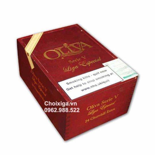 Xì gà Oliva Series V Churchill Extra - Hộp 24 điếu
