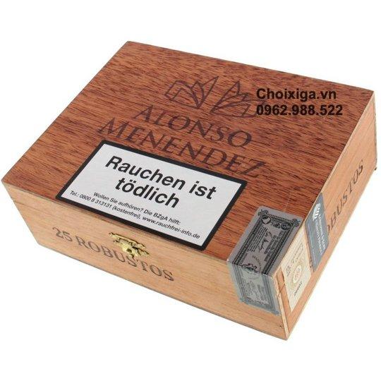 Xì gà Alonso Menendez Robusto - Hộp 25 điếu